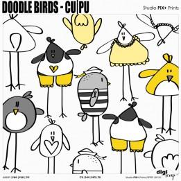 Doodle Birds - CU|PU