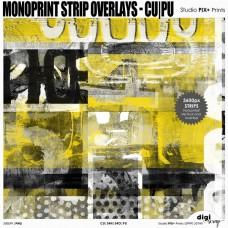 Monoprint Strip Overlays - CU|PU