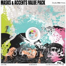 Masks and Accents Value Pack - CU|PU