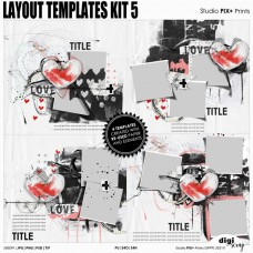 Layout Templates Kit 5 - PU