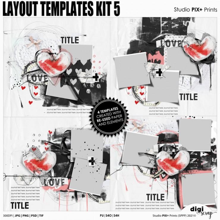 Layout Templates Kit 5 - PU
