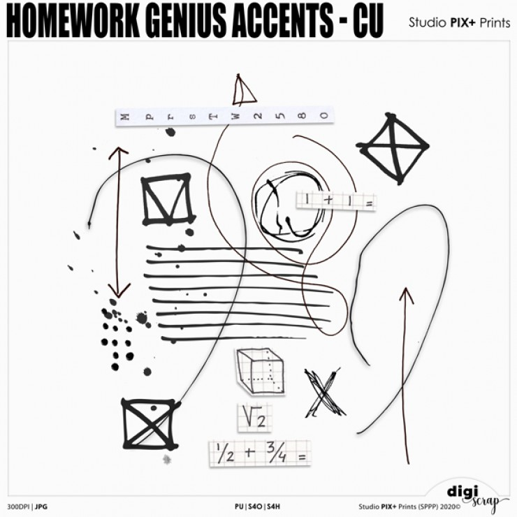 Homework Genius Accents - CU|PU