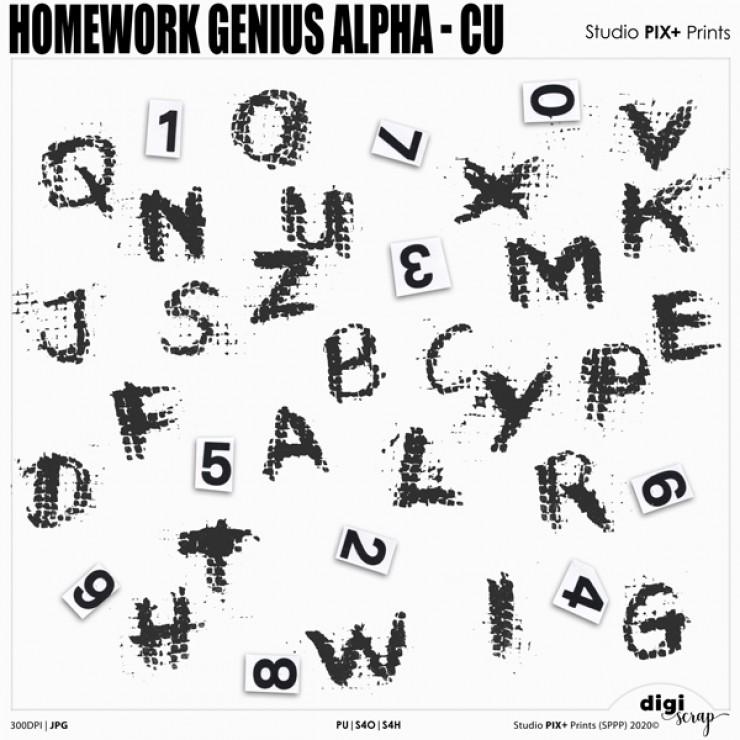 Homework Genius Alpha - CU PU