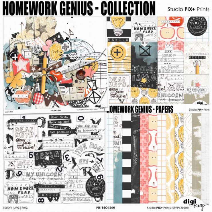 Homework Genius Collection - PU