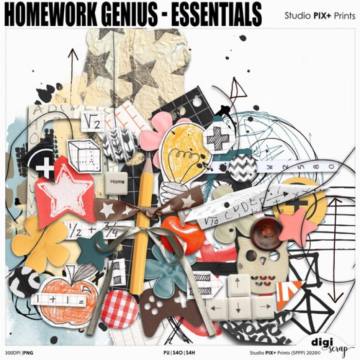 Homework Genius Essentials - PU