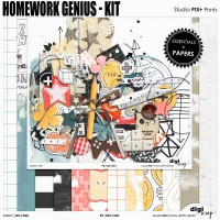 Homework Genius Kit - PU