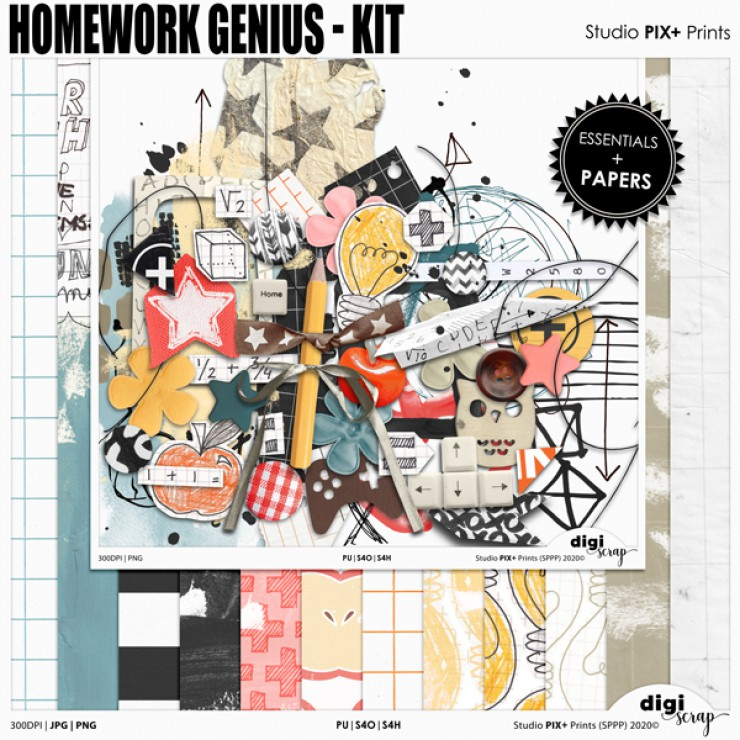 Homework Genius Kit - PU