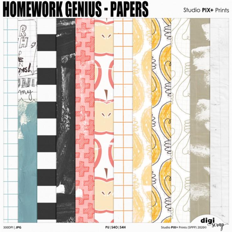 Homework Genius Papers - PU