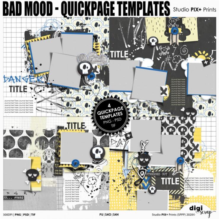 Bad Mood QP Templates - PU