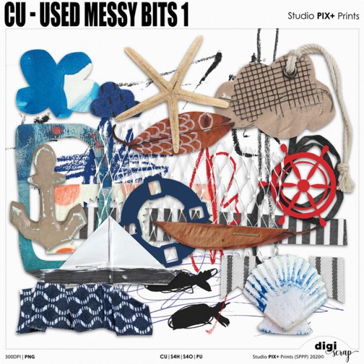 Used Messy Bits 1 - CU|PU