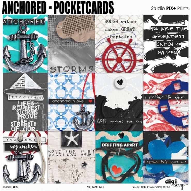 Anchored Pocketcards - PU