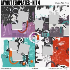 Layout Templates - kit 4