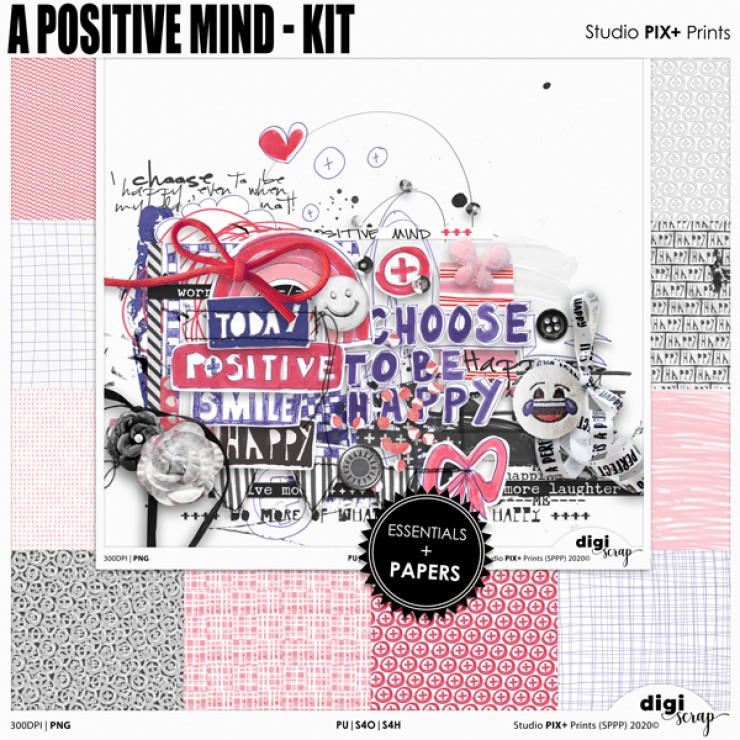 A Positive Mind Kit - PU