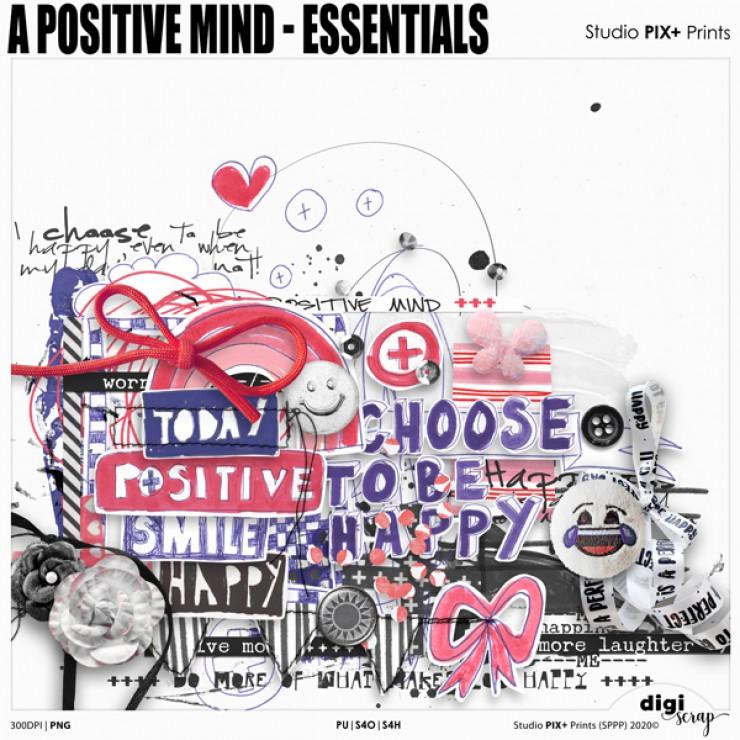 A Positive Mind Essentials - PU