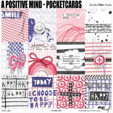 A Positive Mind - pocketcards