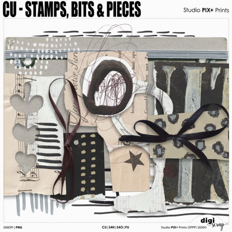 CU - Stamps Bits And Pieces