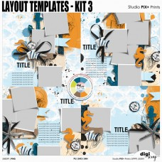 Layout Templates - kit 3