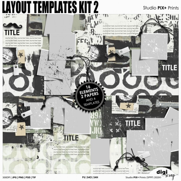 Layout Templates Kit 2 - PU