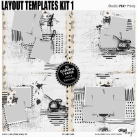 Layout Templates - kit 1