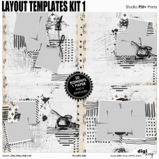 Layout Templates Kit 1 - PU
