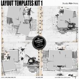 Layout Templates - kit 1