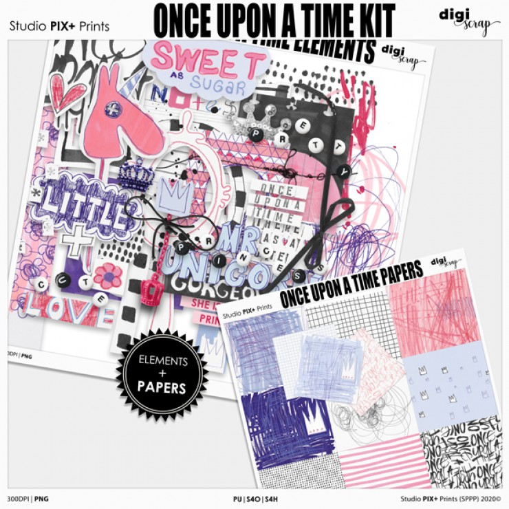 Once Upon A Time - kit