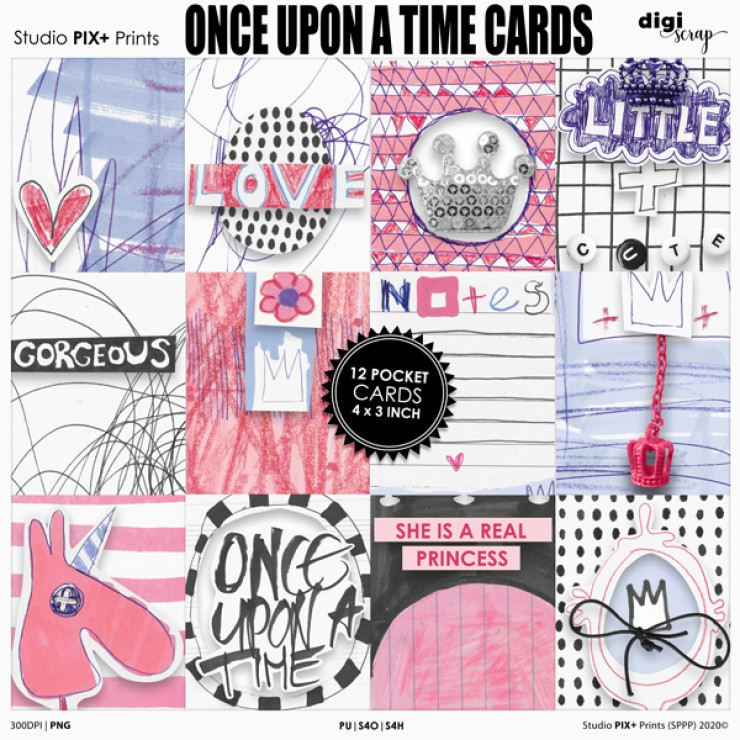 Once Upon A Time - pocketcards