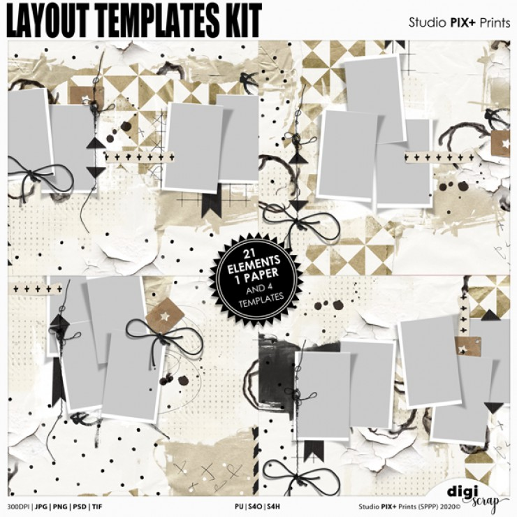 Layout Templates - kit