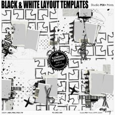 Black And White - layout templates
