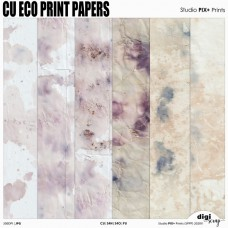 CU Eco Print - papers