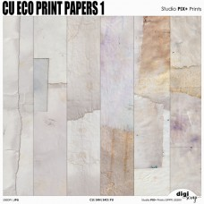 CU Eco Print - papers 1
