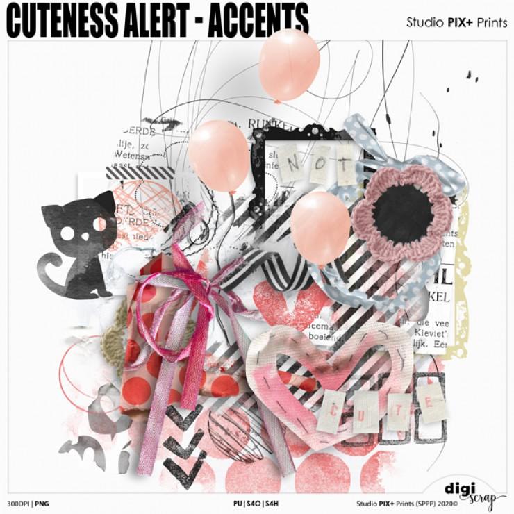 Cuteness Alert Accents - PU