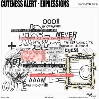 Cuteness Alert Expressions - PU