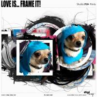 Love Is Frame It - PU