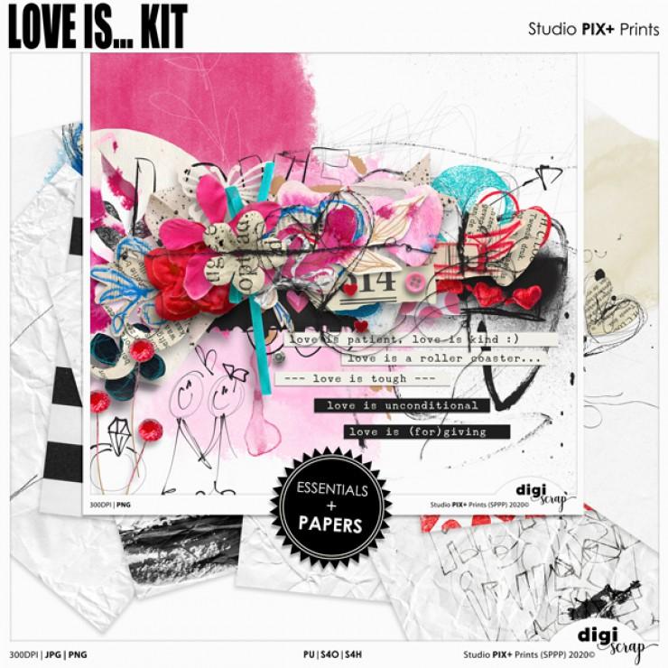 Love Is Kit - PU