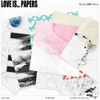 Love Is Papers - PU