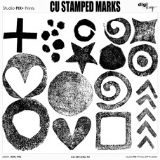 CU Stamped Marks - brushes