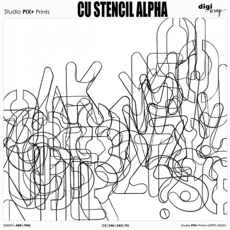Stencil Alpha - CU|PU