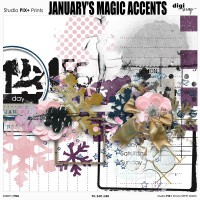 January's Magic - accents