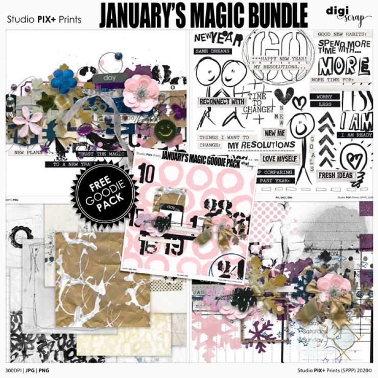 January's Magic - bundle