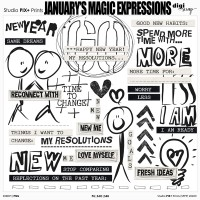 January's Magic - expressions