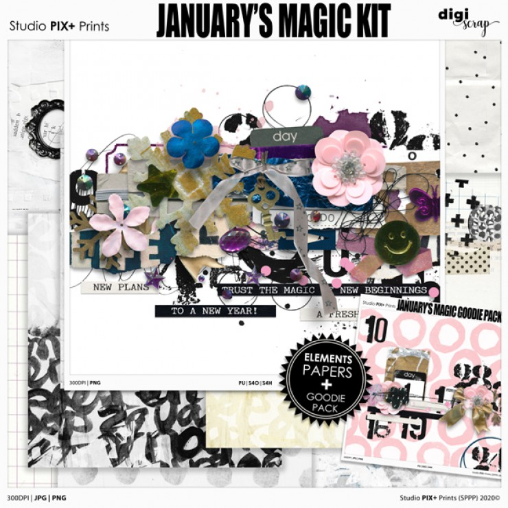 January's Magic - kit