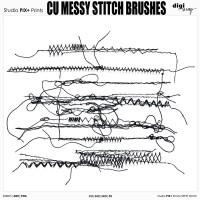 CU - Messy Stitch Brushes