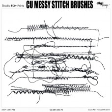 CU - Messy Stitch Brushes