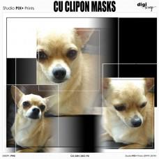 CU - Clipon Masks