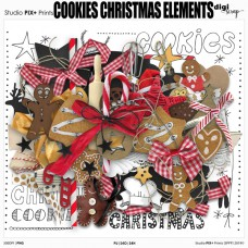 Cookies Christmas Elements - PU