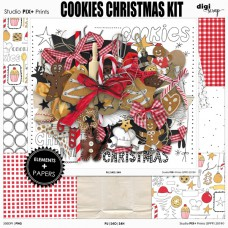 Cookies Christmas - kit