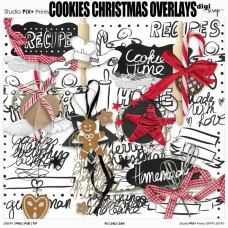 Cookies Christmas Overlays - PU