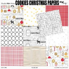 Cookies Christmas Papers - PU
