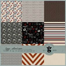 Hygge patterned papers CU
